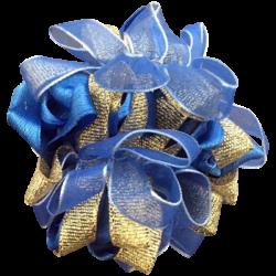 Royal blue Gold