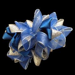 Royal blue Silver